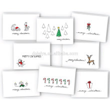 Merry Christmas Greeting Cards Collection Customized Greeting Cards