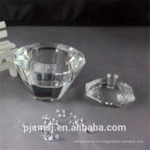 прозрачного хрусталя шкатулку для свадебные украшения