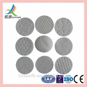 Disposable nonwoven lint free cotton/meltblown nail wipes