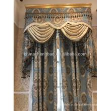 Cortinas antiquadas por atacado Últimos desenhos de cortinas reais