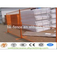 clôture temporaire (fixée avec des clips)