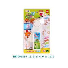Plástico mini ventilador de brinquedo de promoção, crianças brinquedo ventilador, ventilador manual de controle de mão