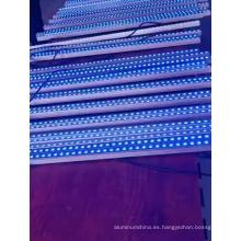 Perfil de aluminio plano 220V LED que cambia de color