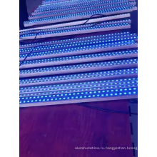 Плоский алюминиевый профиль 220V, меняющий цвет, светодиод