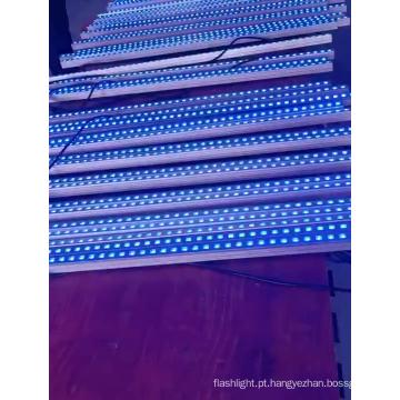 Arruela de parede de tubo led com mudança de cor luz led