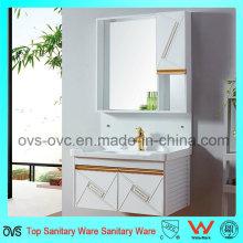 Gabinete simple de la vanidad del cuarto de baño de la lavabo simple