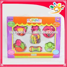 Lustige Aufklärer-Reihe Schaukeln-Bell-Spielzeug, reizende Plastikschaukel-Bell-Satz-Spielwaren (6pieces ein Satz)