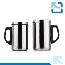 350ml Double Wall Anti-Hot Stainless Steel Travel Cup & Mug for Leisure