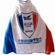 Temporada de invierno coreano club de fútbol bandera manta de lana