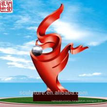 2016 New High Quality 304 Stainless Steel Garden Sculpture