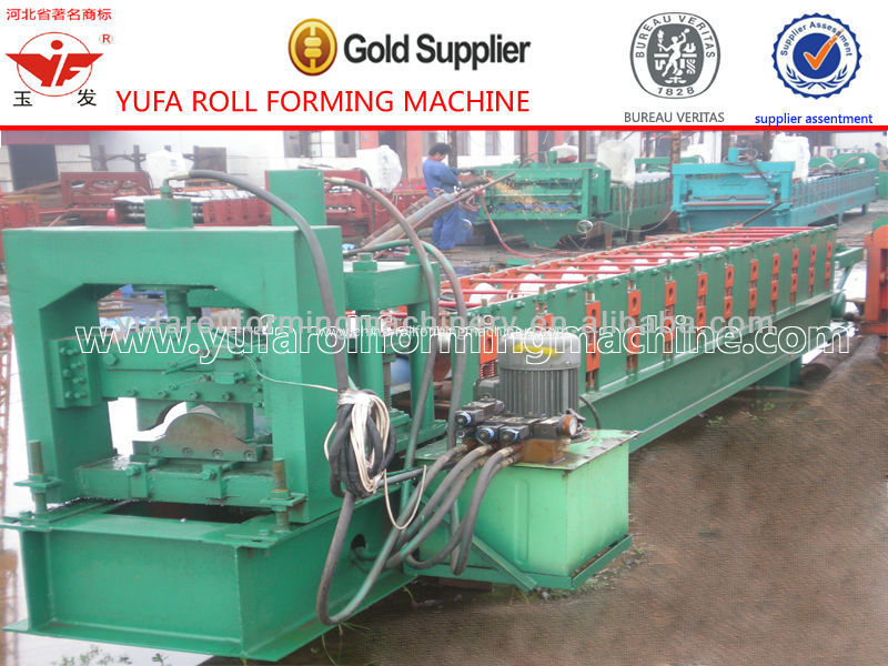 Easy Operation Ridge Tile Roll Forming Machine For Construction Industry Making Machine