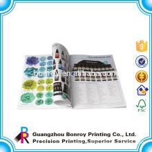 Colour pages OEM designer catalogue printing