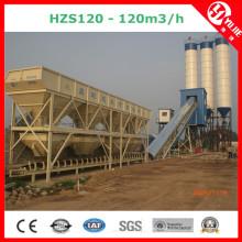 120m3 / H hohe Gebäudekonstruktion Betonmischanlage