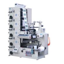 Máquina de impresión flexográfica para etiquetas