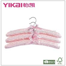 2015Fancy мягкая атласная мягкая вешалка для одежды в самом молодом стиле