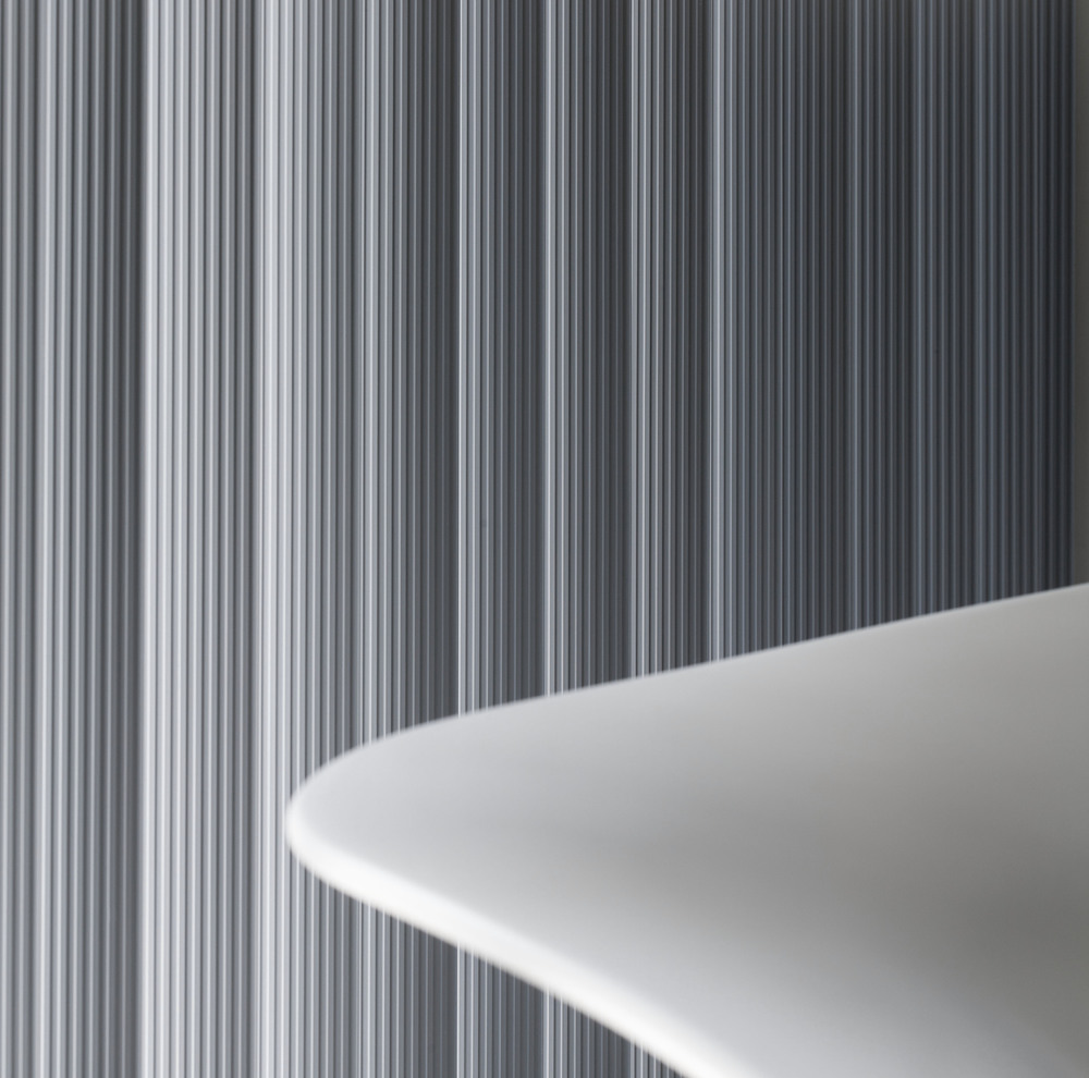 Curved PVC Vertical Blinds