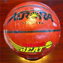 Baloncesto Personalizado de desgaste de calidad de resistencia 8pieces barato # 5 # 6 # 7 # Aurora5123-1 Baloncesto de PU