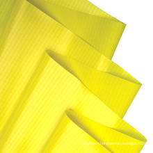 New Design Rohs Certificate Yellow 20D Nylon Coated With Mesh Airtight TPU Fabric For Outdoor Matt