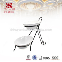 Louça de cerâmica por atacado pratos para fábrica de porcelana buffet