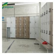 Locker manufacturer compact laminate key lock changing room locker