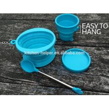 Eco-friendly fabricante da China Professional Resistência ao calor filtro de café de silicone reutilizável resistente ao calor e Dripper