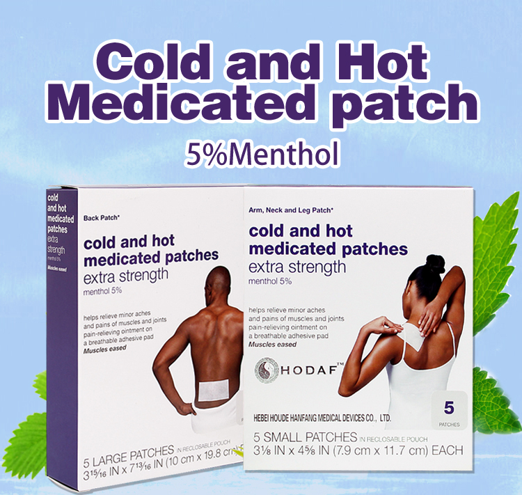 cold and hot medicated patch