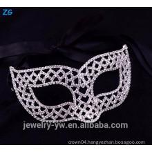 Beautiful rhinestone masquerade party masks, fashion jewelry funny masquerade mask