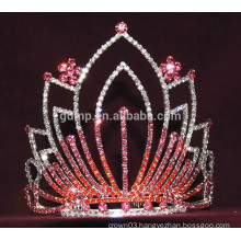colorful flower tiara crown