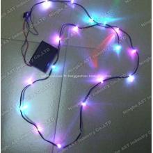 Guirlande lumineuse LED de Noël, éclairage LED