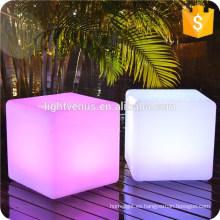 LED bar silla decoración moderna al aire libre led cubo / Cubo silla llevada / cubo del resplandor