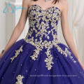 2017 Lace Appliques Sequined Beading Ball Gown Quinceanera Dresses