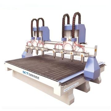 Router quadrado do CNC da máquina Mach3 dos trilhos para anunciar