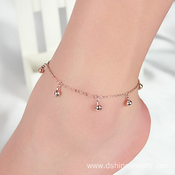 Chain Anklet Bracelet With Small Bell Charm Anklets For Sale