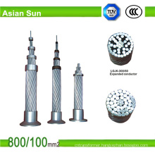 Overhead Aluminum Conductor Steel Reinforced Cable Wire ACSR