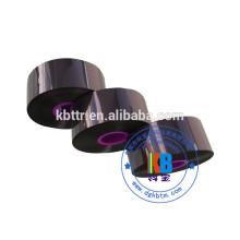 Code-barres noir compatible TTO presque tranchant ruban d'impression pour transfert thermique markem d'encre
