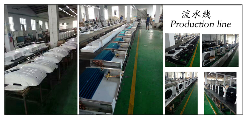 Refrigeration equipment for truck freezer 12v