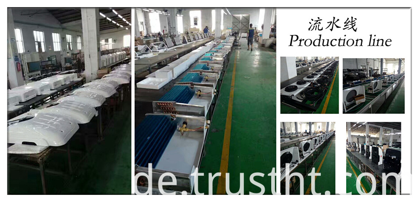 Refrigeration unit for truck freezer