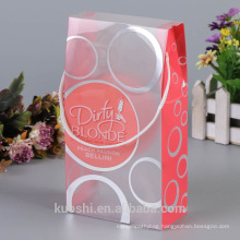 Custom PVC Packaging Box Clear Plastic Packaging Box With Handle