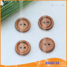Natural Wooden Buttons for Garment BN8013