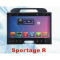 Android System Car GPS pour KIA Sportage 2011 avec lecteur DVD de voiture