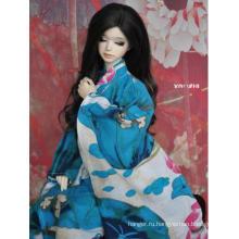 Одежда BJD Синее кимоно / юката на 75 см / 70 см / SD / MSD / YOSD