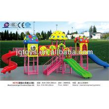 JS06702 Hotsale Kids Наружная металлическая и пластиковая площадка