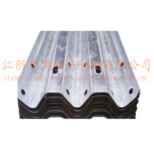 Steel Thire Waves Highway Guardrail Roll Forming Machine Production Line Russia