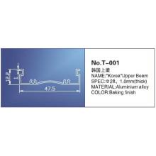 28mm Roller Blind Track, T-001