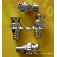 BNC Male to F Connector Female Socket Adapter