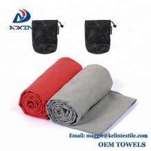 """2 pack microfibra viagens esportes toalha ultra absorvente e secagem rápida toalha de natação (60 """"x 30"""")"""
