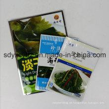 Größe Kundengebundene flache Plastikverpackungs-Tasche für tägliches Lebensmittel mit SGS genehmigt