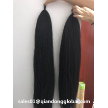 90cm Black False Horse Tail Hair For Sale