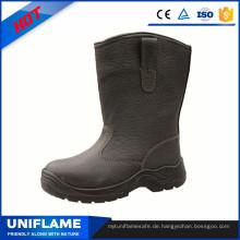 Leder High Cut Sicherheitsschuhe Ufa066