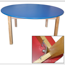 Wooden Round Table for Kids The Certificate of The En 1729-1 and En 1729-2